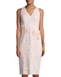 Maggy London - Rose-garden Lace Sheath Dress - Lyst