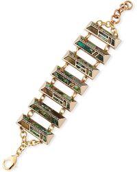 Lulu Frost Chatelet Multi-link Bracelet - Gray