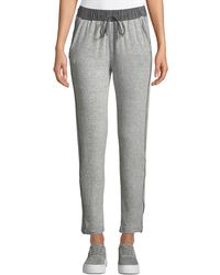 Bobeau - Cozy Drawstring Terry Sweatpants - Lyst
