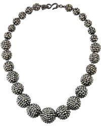 Kenneth Jay Lane - Graduated Bead Necklace - Lyst