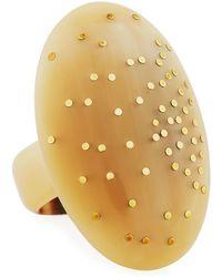 Ashley Pittman - Taifa Light Horn Ring - Lyst