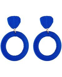 Lydell NYC - Wrapped Drop Earrings - Lyst