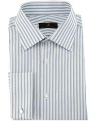 Ike Behar - Bold-stripe Dress Shirt - Lyst