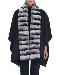 Gorski - Fur-trim Cashmere-wool Stroller - Lyst