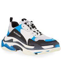 Balenciaga Triple S Sneakers - Blue