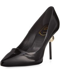 Roger Vivier - Patent Leather Pointed Pump - Lyst