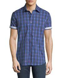 Robert Graham - Classic-fit Campfire Short-sleeve Sport Shirt - Lyst