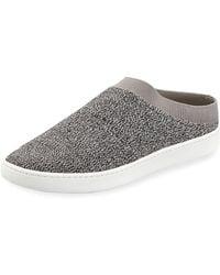 UGG® Gene Nubuck Slide Sneakers 9SNh0sD8