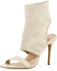 Charles David - Remote Stretch Knit Bootie Sandal - Lyst