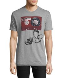 Ben Sherman - Men's Tape Graphic Tee - Lyst