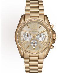 MICHAEL Michael Kors - 43mm Bradshaw Chronograph Bracelet Watch - Lyst