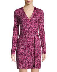 1d2ee0b75788 Lyst - Diane Von Furstenberg New Julian Two Short-sleeve Wrap Dress