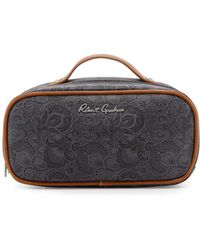 Robert Graham | Faux-leather Toiletry Bag | Lyst