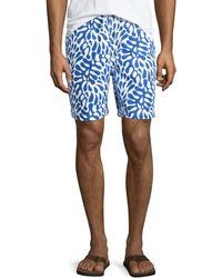 Neiman Marcus - Hawaii Printed Swim Trunks - Lyst