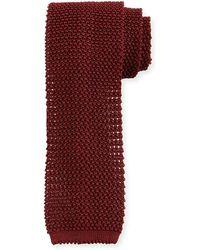 Peter Millar - Silk Knit Contrast Tie - Lyst