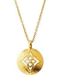 Gurhan - 22k Topkapi Diamond Pendant Necklace - Lyst