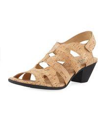 Sesto Meucci - Philys Cork Low Comfort Sandal - Lyst