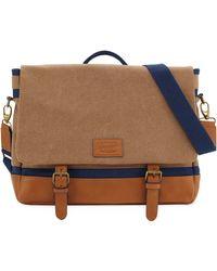 Original Penguin | Canvas Flap Messenger Bag | Lyst