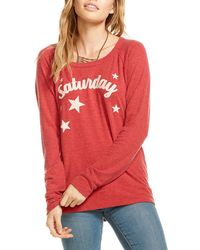 Chaser | Saturday Back-cutout Top | Lyst