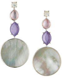 Ippolita Wonderland Long Multi-shape Earrings In Primrose - Multicolour