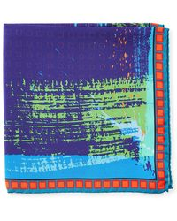 Bugatchi - Graphic-print Pocket Square - Lyst