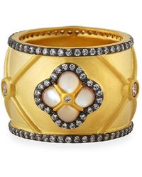 Freida Rothman - Clover Mother-of-pearl Ring Size 8 - Lyst
