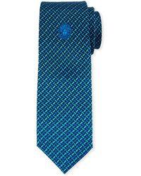 Versace - Men's Basketweave Silk Tie - Lyst