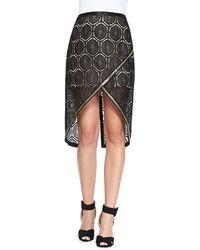 Sass & Bide - Six Months Later Embroidered Skirt - Lyst