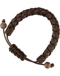 Stephen Webster - Men's No Regrets Woven Leather Bracelet - Lyst