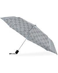 Adrienne Vittadini - Geometric-print Auto Umbrella - Lyst