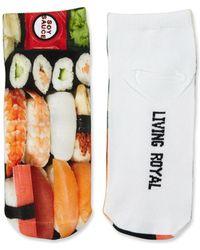 Living Royal - Sushi-print Ankle Socks - Lyst