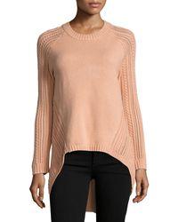 Elliatt | Landforms Woven-knit Sweater | Lyst