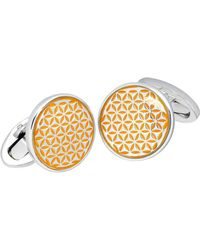 Jan Leslie - Tight Flower Cuff Links - Lyst