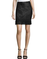 Goldie London - Get Down Tonight Faux-leather Skirt - Lyst