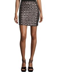 Goldie London - Night Fever Sequined Pencil Skirt - Lyst