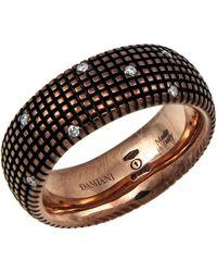 Damiani - 18k Brown Gold Metropolitan Dream Diamond Ring - Lyst