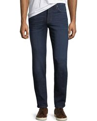 Joe's Jeans - Slim-fit Straight-leg Dark Wash Jeans - Lyst