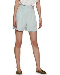 Walter Baker Aurora Pleated Shorts - Green