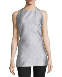CoSTUME NATIONAL - Halter-neck Backless Top - Lyst