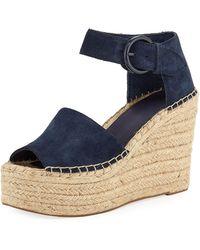 Marc Fisher - Alida Espadrille Platform Wedge Sandals - Lyst