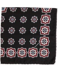 Stefano Ricci - Medallion-print Handkerchief - Lyst