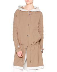 Callens - Waterproof Hooded Drawstring Coat - Lyst
