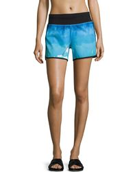 Marc New York - Printed Dolphin Performance Shorts - Lyst