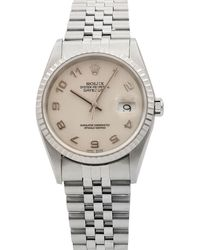 Rolex - Pre-owned 36mm Datejust Automatic Jubilee Watch - Lyst