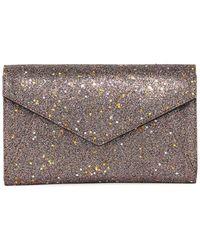 Neiman Marcus - Star Glitter Envelope Clutch Bag - Lyst