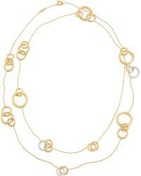 Marco Bicego - Jaipur Diamond-link Necklace - Lyst