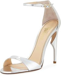 Jerome C. Rousseau - Malibu Metallic High Sandal - Lyst