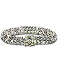 John Hardy Large Oval-chain Bracelet - Multicolour