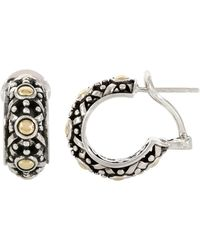 John Hardy - Dot Small Hoop Earrings - Lyst