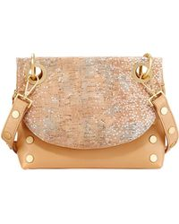 Hammitt | Corey Reversible Leather And Cork Crossbody Bag | Lyst